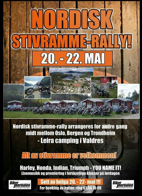 Nordisk Stivramme-rally 2016